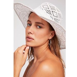 Shadow Play Sun Freckle Straw Hat